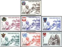 Vatikanstadt 764-770 (complete Issue) Unmounted Mint / Never Hinged 1980 Pope Travels - Vatican