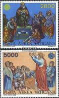 Vatikanstadt 842-843 (complete Issue) Unmounted Mint / Never Hinged 1983 World Communication Year - Vatican