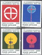 Vatikanstadt 984-987 (complete Issue) Unmounted Mint / Never Hinged 1989 Eucharistic Congress - Vatican
