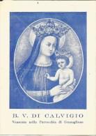 SANTINO  B.V. DI CALVIGIO VENERATA NELLA PARROCCHIA DI GRANAGLIONE - Santini