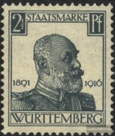 Württemberg D241 Tested Fine Used / Cancelled 1916 King William - Wurttemberg