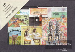 Africa 10 Different Pads - Stamps