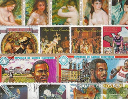 Africa 100 Different Stamps  Guinea, -Equatorial And -Bissau - Stamps