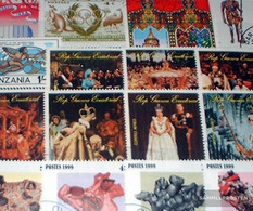 Africa 200 Different Special Stamps - Stamps