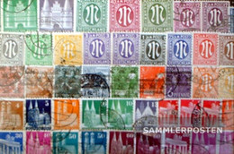 Bizonal (Allied Cast) 50 Different Stamps  Without Community Spending - Collections
