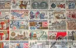 Czechoslovakia 100 Different Special Stamps - Czechoslovakia