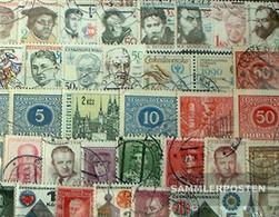 Czechoslovakia 100 Different Stamps - Czechoslovakia