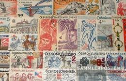 Czechoslovakia 150 Different Special Stamps - Czechoslovakia