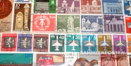 DDR 100 Different Stamps - Germany