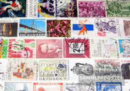 Denmark 100 Different  Special Stamps And Large - Action
