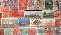 Denmark 100 Different Stamps - Lotes & Colecciones