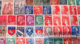 France 50 Different Stamps - France