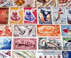 France 50 Different Stamps Unmounted Mint / Never Hinged French Colony Or Successor - Collections