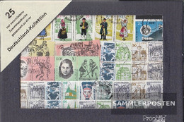 FRD (FR.Germany) 25 Different Stamps  In Together Print - Collections