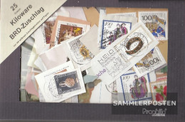 FRD (FR.Germany) 25 Grams Kilo Goods Fine Used / Cancelled Supplement Brands - Stamps