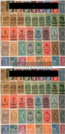 German Empire 50 Different Stamps Unmounted Mint / Never Hinged Without Dependencies - Germany