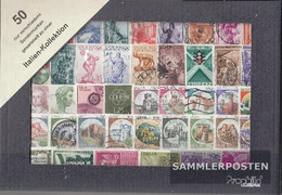 Italy 50 Different  Special Stamps And Large - Lotti E Collezioni