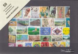 Japan 50 Different Special Stamps - Piste Des Ombres, La
