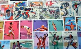 Motives 200 Different Sports Stamps - Teenage Mutant Ninja Turtles