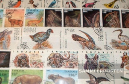 Motives 250 Different Wildlife Stamps - Unclassified