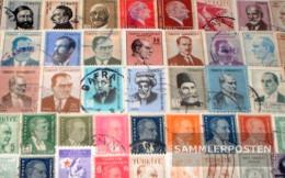 Turkey 50 Different Stamps - 1921-... Republic