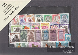 Upper Volta 25 Different Stamps