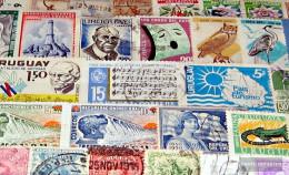 Uruguay 100 Different Stamps - Uruguay