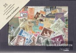 Vatikanstadt 25 Different Stamps Unmounted Mint / Never Hinged - Collections