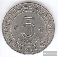 Algeria Km-number. : 105 1972 Type A Very Fine Nickel Very Fine 1972 5 Dinars Fao - Algeria