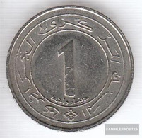 Algeria Km-number. : 117 1987 Very Fine Copper-Nickel Very Fine 1987 1 Dinar Independence - Algeria