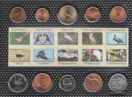 All World Stgl./unzirkuliert Kursmünzen Stgl./unzirkuliert 10 Coins Birds Set 1 - Coins