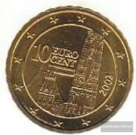 Austria O 4 2002 Stgl./unzirkuliert Stgl./unzirkuliert 2002 Kursmünze 10 Cent - Austria