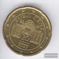 Austria O 5 2003 Stgl./unzirkuliert Stgl./unzirkuliert 2003 Kursmünze 20 Cent - Austria