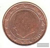 Belgium B 1 2001 Stgl./unzirkuliert Stgl./unzirkuliert 2001 Kursmünze 1 Cent - Belgium