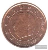 Belgium B 3 1999 Stgl./unzirkuliert Stgl./unzirkuliert 1999 Kursmünze 5 Cent - Belgium
