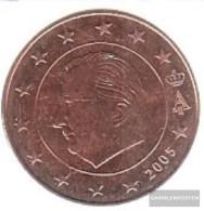 Belgium B 3 2005 Stgl./unzirkuliert Stgl./unzirkuliert 2005 Kursmünze 5 Cent - Belgium