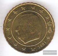 Belgium B 4 2001 Stgl./unzirkuliert Stgl./unzirkuliert 2001 Kursmünze 10 Cent - Belgium