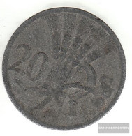 Bohemia And Moravia Jägernr: 621 1941 Very Fine Zinc Very Fine 1941 20 Bright Wappenlöwe - [ 4] 1933-1945 : Third Reich