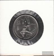 Canada Km-number. : 765 2008 Stgl./unzirkuliert Steel, Nickel Plattiert Stgl./unzirkuliert 2008 25 Cents Skiakrobatik - Canada