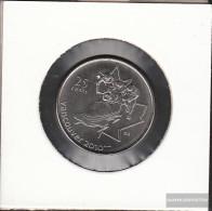 Canada Km-number. : 841 2008 Stgl./unzirkuliert Steel, Nickel Plattiert Stgl./unzirkuliert 2008 25 Cents Bob - Canada