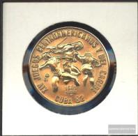 Cuba Km-number. : 61 1981 Stgl./unzirkuliert Copper-Nickel Stgl./unzirkuliert 1981 1 Peso Javelin And Run - Cuba