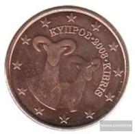 Cyprus Z 3 2008 Stgl./unzirkuliert Stgl./unzirkuliert 2008 5 Cent Kursmünze - Cyprus