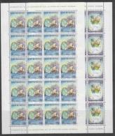 Europa Cept 1992 San Marino 2v Sheetlets (unfolded) ** Mnh (F3636) - Europa-CEPT