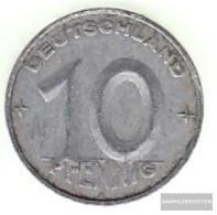 DDR Jägernr: 1507 1952 A Very Fine Aluminum Very Fine 1952 10 Pfennig Hammer And Zirkel Zwisch - [ 6] 1949-1990 : GDR - German Dem. Rep.