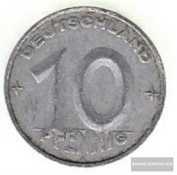 DDR Jägernr: 1507 1953 E Very Fine Aluminum Very Fine 1953 10 Pfennig Hammer And Zirkel Zwisch - Ukraine