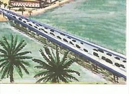 CHROMOS FLAN LYONNAIS - FRANCAIS, CHAMPIONS DU MONDE. - CONSTRUCTION PORT D'ABIDJAN. - Non Classés