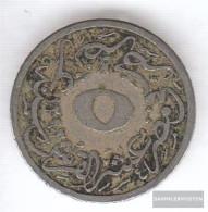 Egypt Km-number. : 291 1293 /29 Very Fine Copper-Nickel Very Fine 1293 5/10 Qirsh Tughra - Egypt
