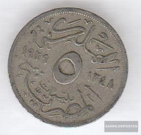 Egypt Km-number. : 346 1933 Very Fine Copper-Nickel Very Fine 1933 5 Milliemes Fuad I. - Egypt