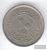 Egypt Km-number. : 364 1941 Very Fine Copper-Nickel Very Fine 1941 10 Milliemes Farouk - Egypt