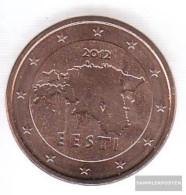 Estonia Est 2 2012 Stgl./unzirkuliert Stgl./unzirkuliert 2012 Kursmünze 2 Cent - Estonia